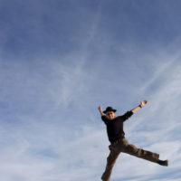 Luftsprung in Uyuni, 2010